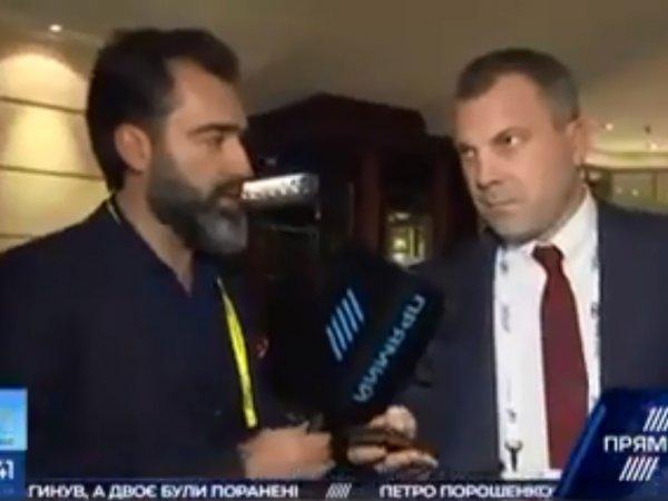 Муж Скабеевой объяснил, почему 1,5 минуты молчал в эфире украинского канала и не стал защищать жену (ВИДЕО)