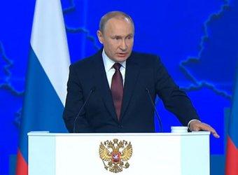 «Подхрюкивающие сателлиты» и реакция министра Васильевой: чем запомнилось послание Путина (ФОТО, ВИДЕО)