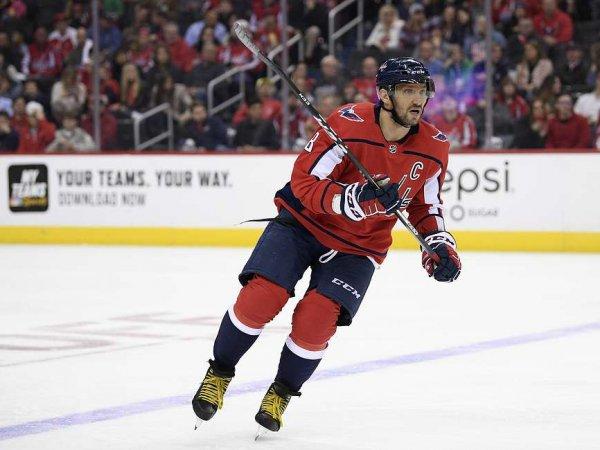 Александр Овечкин стал лучшим бомбардиром из РФ в истории НХЛ