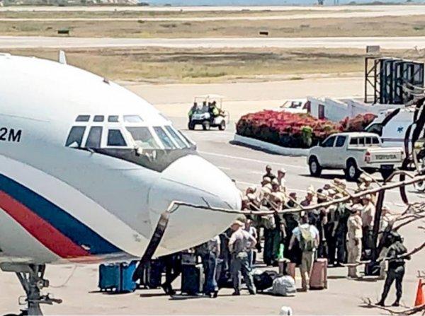СМИ: в Венесуэлу прибыли два самолета с российскими военными