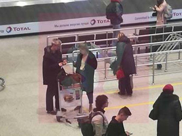 Журналисты засняли на видео Собчак с любовником в аэропорту Праги
