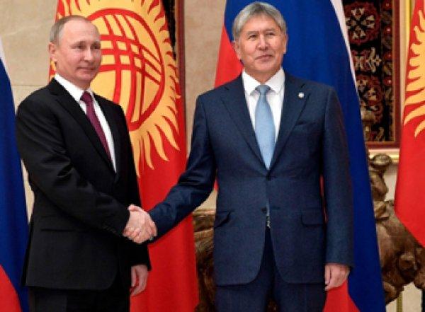 Лошадь против автомобиля: чем Путин удивил Киргизию (ВИДЕО)