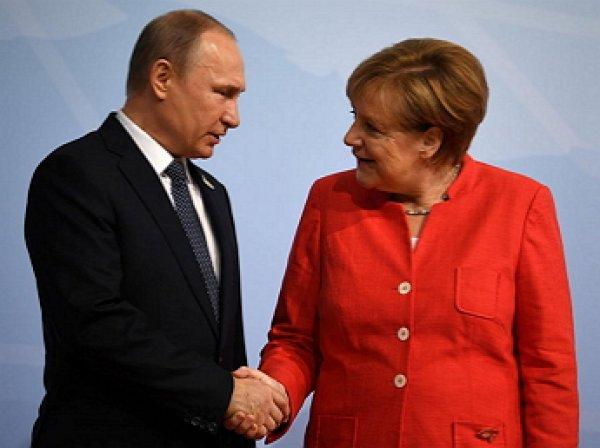 Меркель поддержала Путина, повергнув в шок Украину