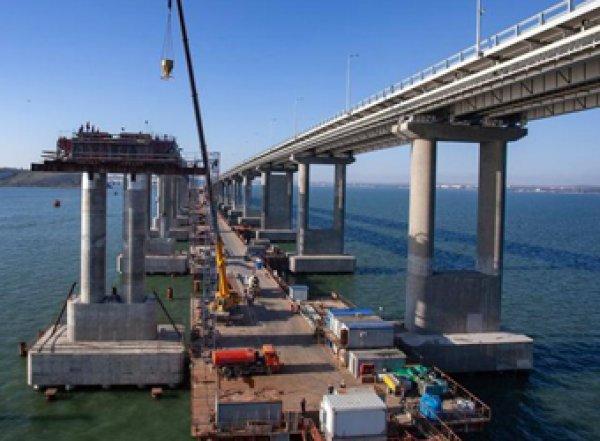 """Киев пугает видео с """"проседающим"""" Крымским мостом"""
