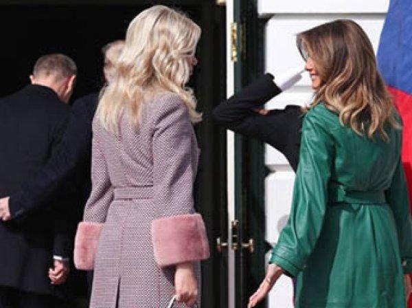"""Трамп унизил Меланью перед камерами, """"увлекшись"""" премьером Чехии (ВИДЕО)"""
