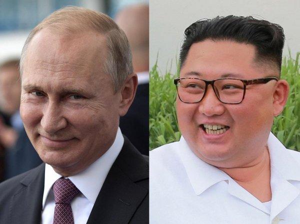 СМИ стали известны дата и место встречи Путина и Ким Чен Ына