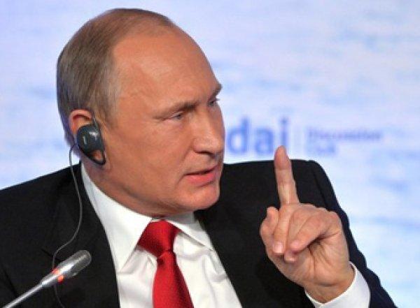 """""""Зеленский пока не возведен в ранг святых"""": Путин осадил нового президента Украины"""