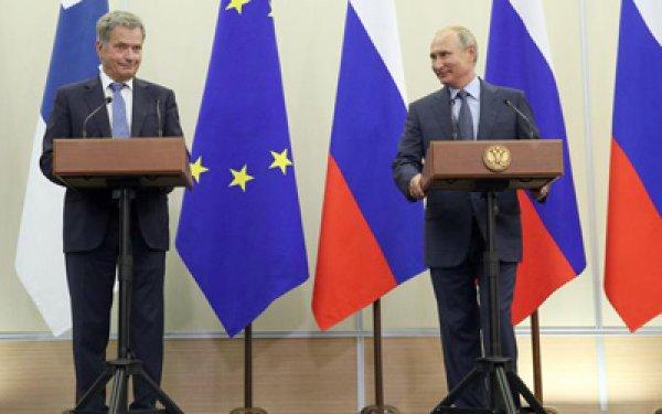 «Закусывают, так и надо»: шутка Путина о финских туристах попала в СМИ
