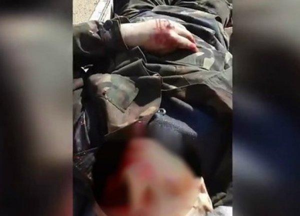 ИГИЛ опубликовало видео с захваченными российскими военными