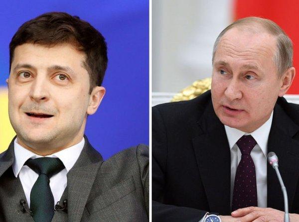 Зеленский заочно схлестнулся с Путиным в ответ на его заявление