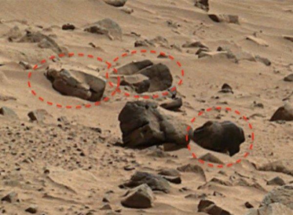 """На фото с Марса обнаружили """"саркофаг пришельцев"""""""
