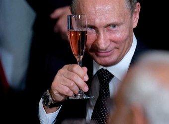 Тебе нельзя: Путин запретил пить на приеме главреду RT Симоньян (ВИДЕО)