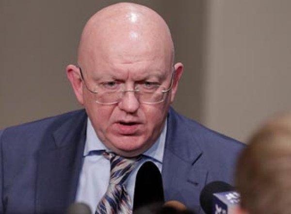 Зампостпреда Британии перекричал выступление Небензи в Совбезе ООН