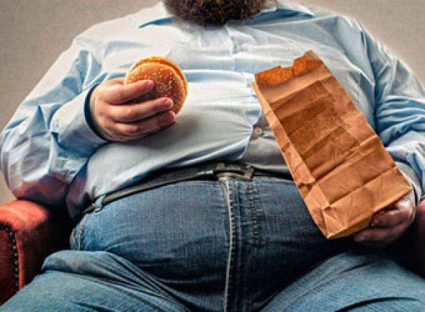 Впервые за 16 лет в России выросло число мужчин с ожирением