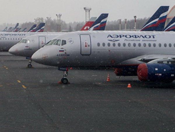 За три дня «Аэрофлот» отменил свыше 30 рейсов SSJ 100