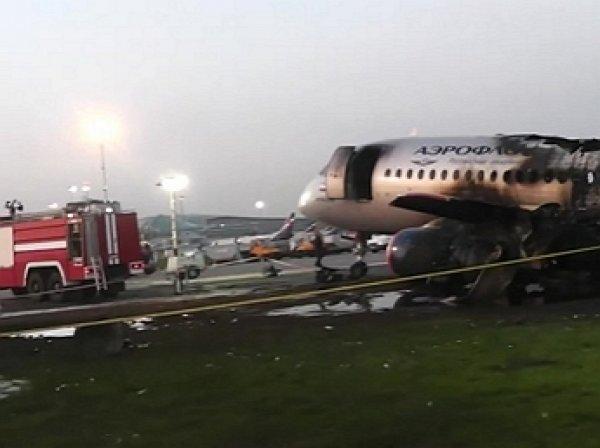 «Самолёт горит в молнии»: обнародованы переговоры пилотов сгоревшего SSJ-100 и диспетчеров