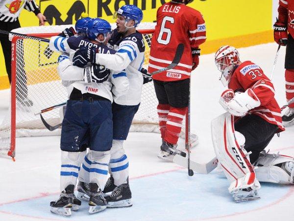 Хоккей, Канада – Финляндия, счет 1:3: обзор матча от 26.05.2019, видео голов, результат (ВИДЕО)