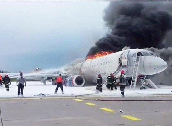 СМИ восстановили полную картину катастрофы с SSJ-100 в Шереметьево