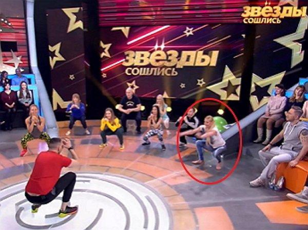 Волочкова развеселила студию НТВ, рухнув на глаза у зрителей на шоу Кудрявцевой