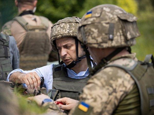 Зеленский впервые побывал на Донбассе будучи президентом Украины