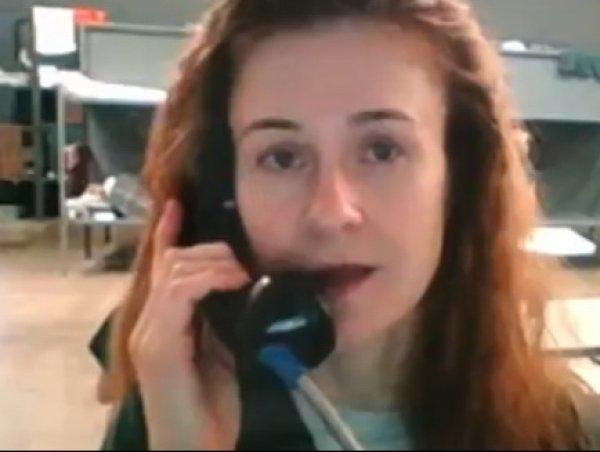 Бутина впервые опубликовала видео из американской тюрьмы (ВИДЕО)