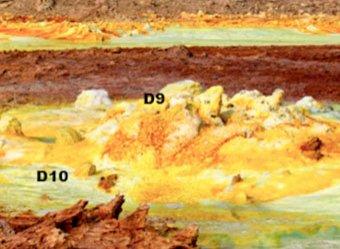 В эфиопском вулкане нашли обитателей Марса (ФОТО)