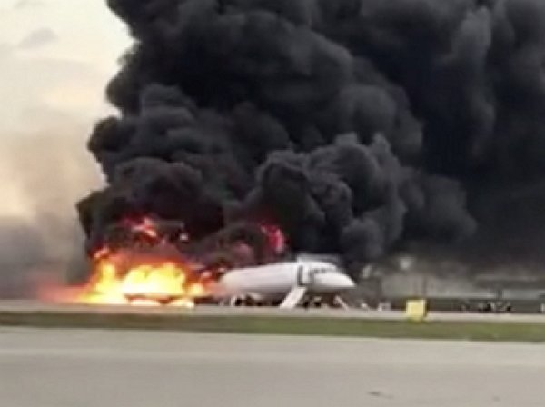 """""""Кошмар перед глазами"""": Апина стала очевидцем трагедии в Шереметьево, засняв на видео горящий SSJ-100"""