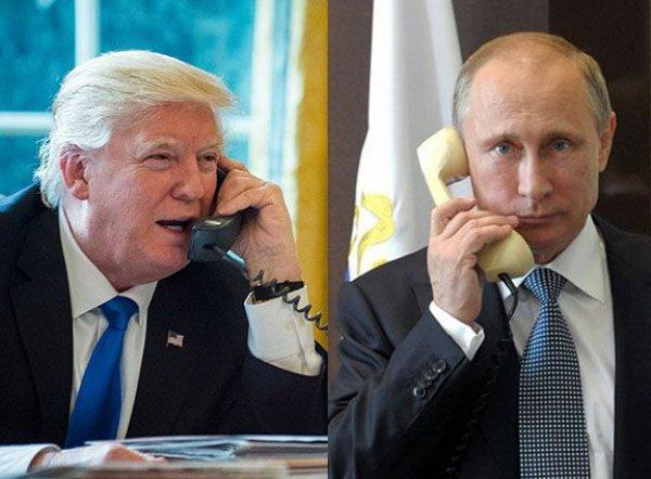 Стали известны детали часового разговора Путина и Трампа: в США возмутились шуткой главы Белого дома