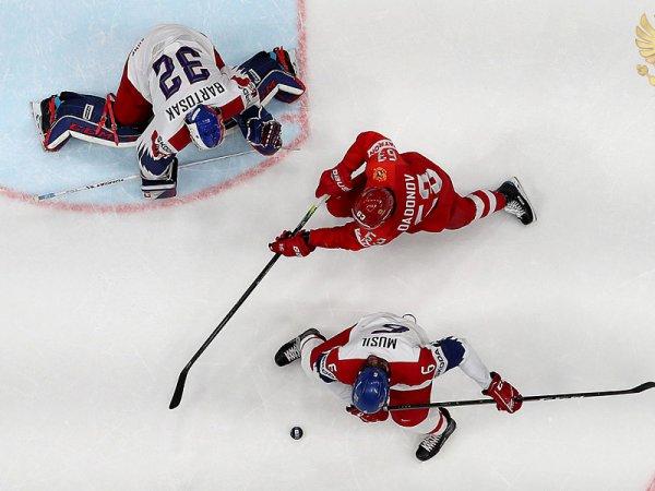 Хоккей, Россия - Чехия, счет 3:2 обзор матча от 26.05.2019, видео голов, результат ЧМ (ВИДЕО)