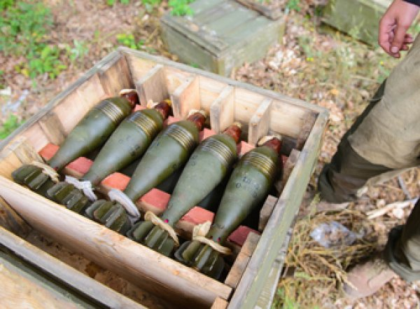 Киев предложил разграничить Россию и Украину ядерными минами