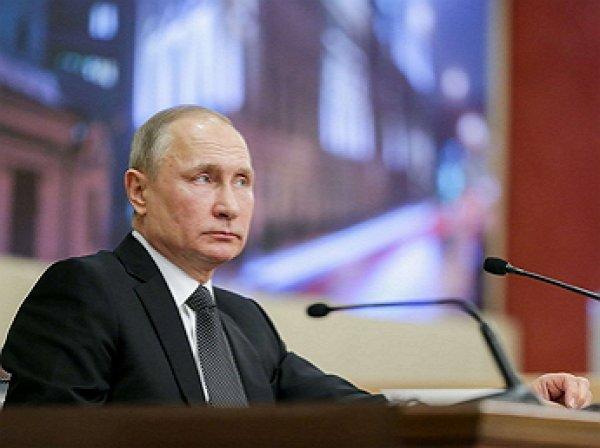 """""""Я не знаю этого человека"""": слова Путина о Зеленском вызвали смех в зале ПМЭФ"""