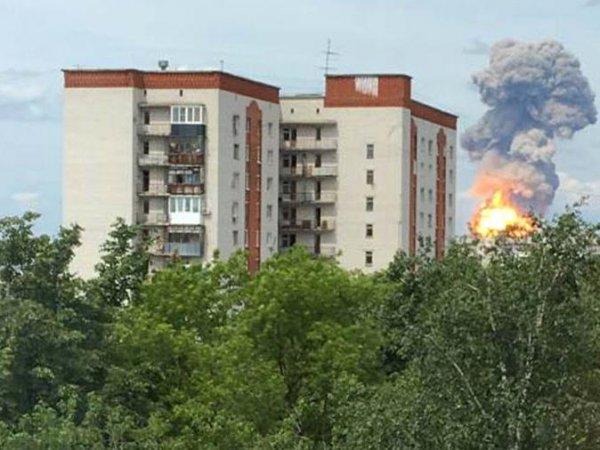 Взрыв в Дзержинске 1 июня на оборонном заводе попал на видео