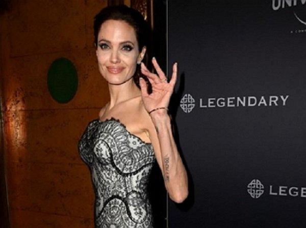 Анджелина Джоли шокировала публику истощенным состоянием