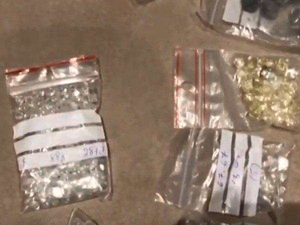 """Миллионы долларов, алмазы, ювелирка: опубликовано видео обыска у проворовавшейся сотрудницы """"АЛРОСА"""""""