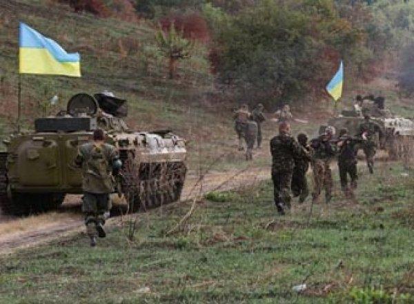Украинские силовики подошли вплотную к Донецку