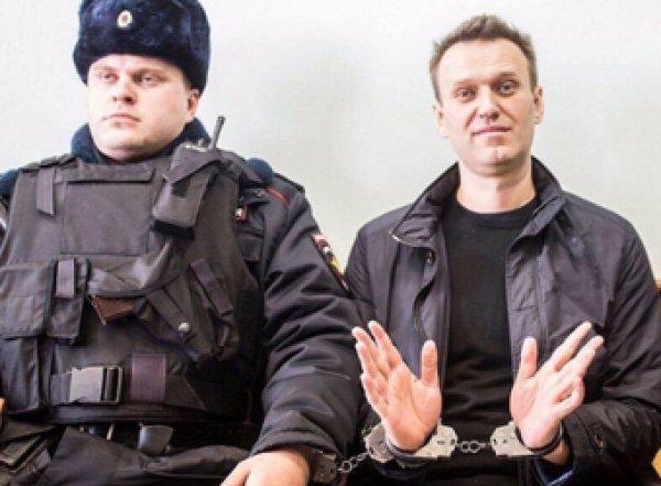 В Москве задержали Навального во время утренней пробежки (ВИДЕО)