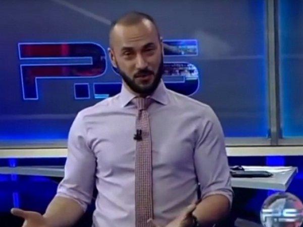Грузинский телеведущий разразился матом в адрес Путина в прямом эфире