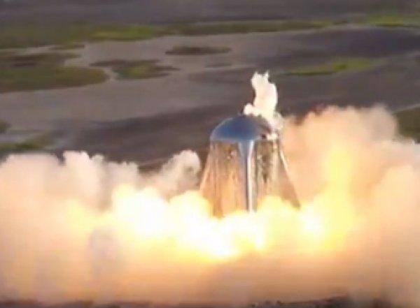 Испытания новой американской ракеты на SpaceX завершились провалом и пожаром (ВИДЕО)