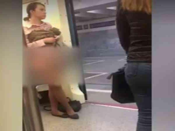 В вагоне столичного метро женщина задрала юбку и сняла трусы, чтобы ей уступили место