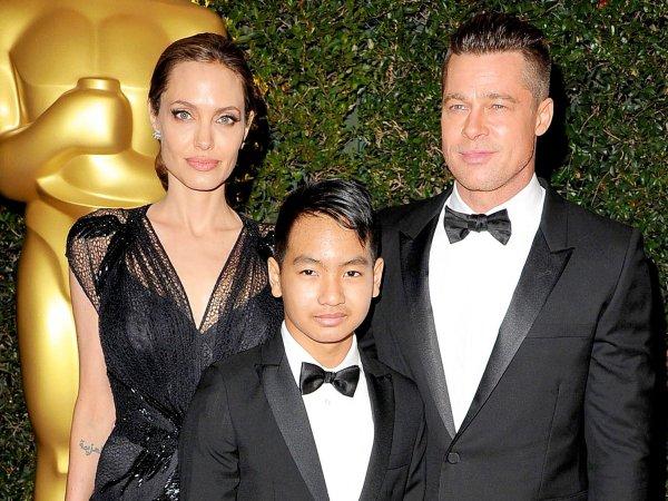 Старший сын Питта и Джоли подает на родителей в суд