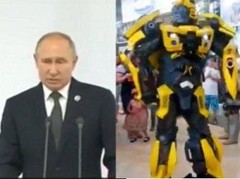 Где-то плачет Мегатрон: новый перфоманс Харламова о Путине и трансформерах взорвал Сеть (ВИДЕО)