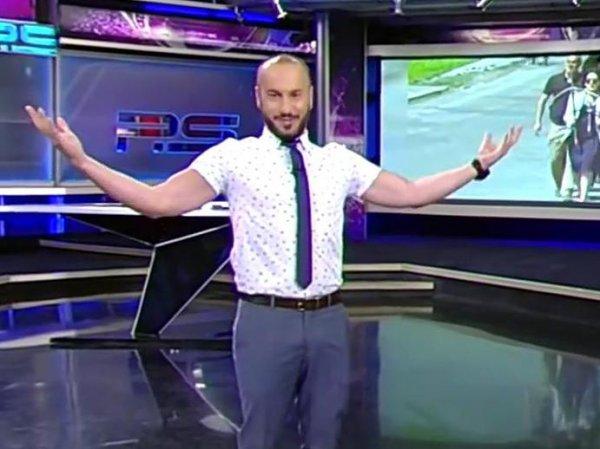 Решена судьба обматерившего Путина грузинского телеведущего