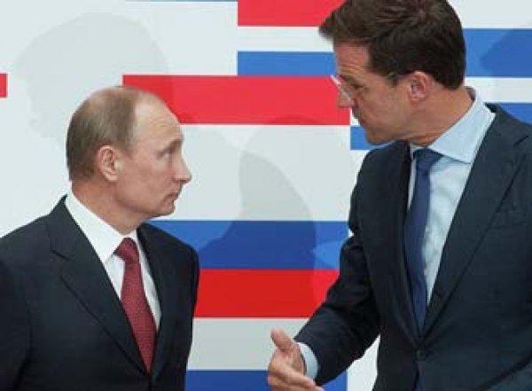 Путин тайно обсудил с премьером Нидерландов следствие по делу МH17