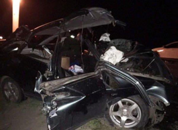 В Туве росгвардеец протаранил машину с детьми: 7 погибших