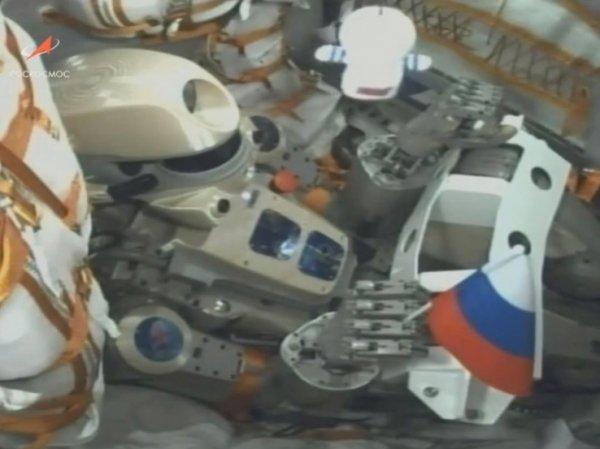 """""""Союз МС-14"""" с роботом Федором на борту не смог состыковаться с МКС"""