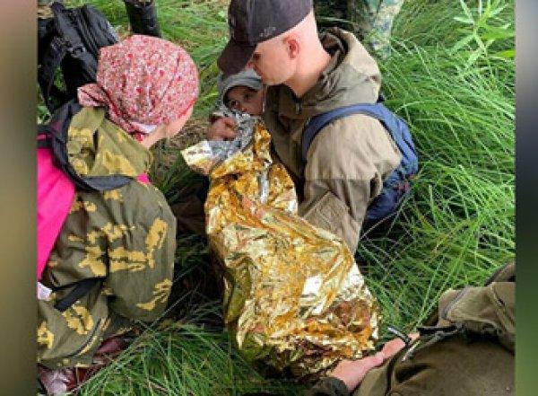 В Омской области 3-летнего мальчика спасли после двух суток проведенных в тайге