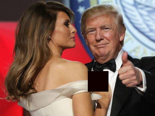 """""""Как собаку!"""": Трамп жестом подозвал к себе жену, возмутив Сеть (ВИДЕО)"""