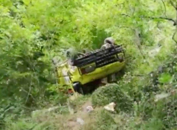 Автобус с шестью российскими туристами разбился в Турции