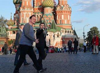 Прибывший в Москву Тарантино отправился в Кремль в компании Мединского