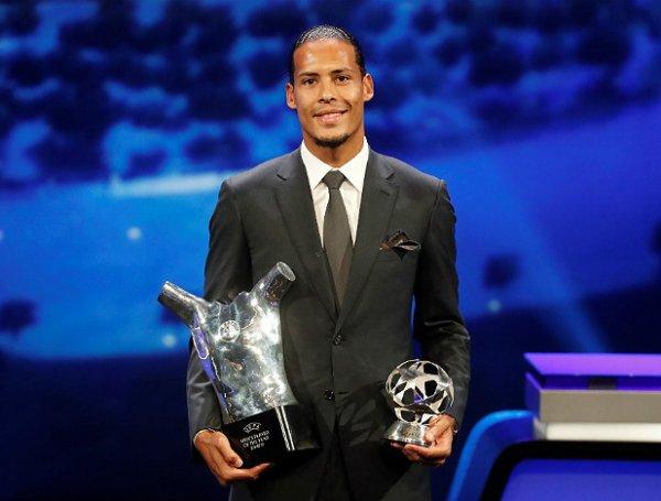Ван Дейк обошел Месси и Роналду, став лучшим игроком УЕФА